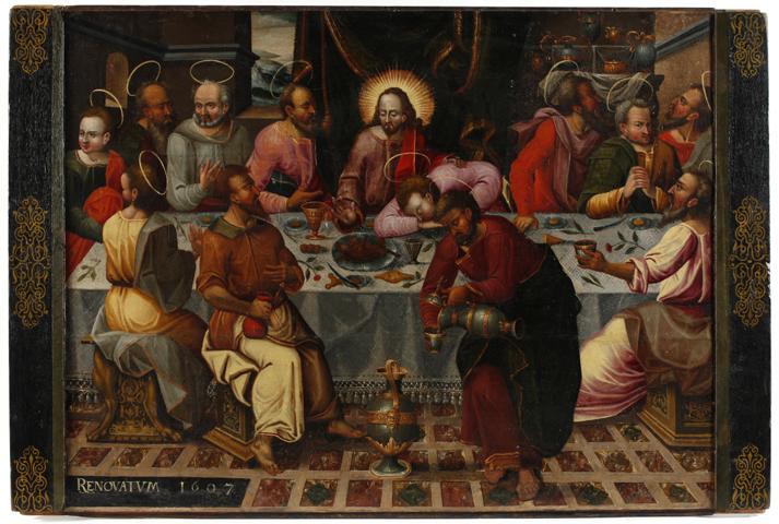 Abb. 2 Letztes Abendmahl, Vorderseite